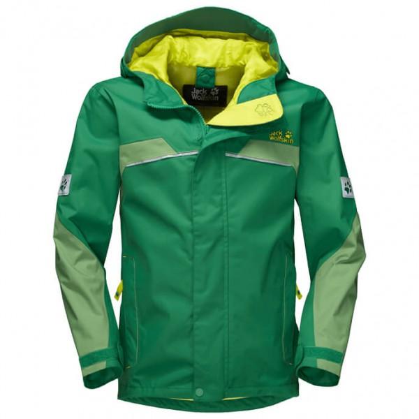 Jack Wolfskin - Topaz Texapore Jacket Boy's - Waterproof jacket