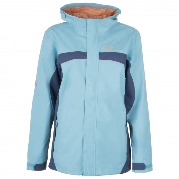 Jack Wolfskin - Topaz Texapore Jacket Girl's - Waterproof jacket