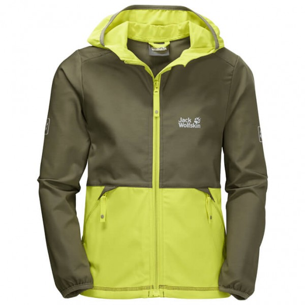 Jack Wolfskin - Turbulence Boys - Softshell jacket