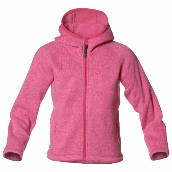 Isbjörn - Kid's Rib Sweater Hood Jr - Fleecejacke