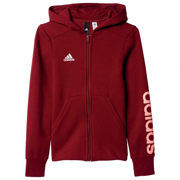 adidas - Kid's Essentials Linear Full Zip Hoodie