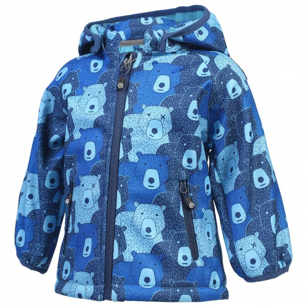Color Kids - Kid's Keast Mini Softshell AOP - Softshelljacka