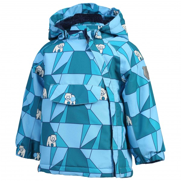 Color Kids - Kid's Raidoni Mini Padded Jacket AOP - Winterjack
