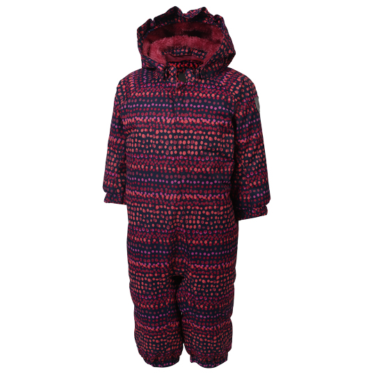 Color Kids - Kid's Rimah Mini Padded Coverall AOP - Mono