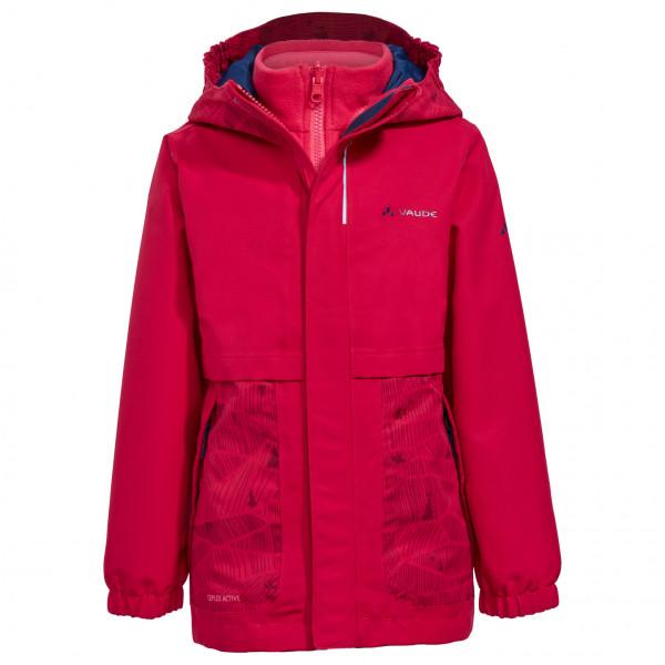 Vaude - Kid's Campfire 3in1 Jacket Girls - Kaksiosainen takki