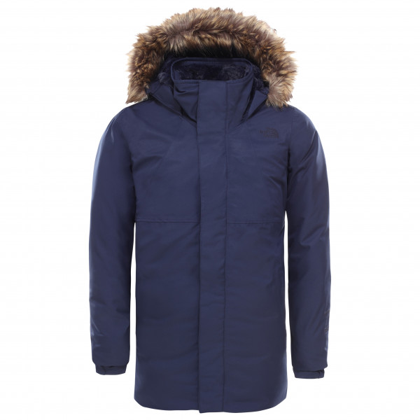 The North Face - Girl's Arctic Swirl Down Jacket - Mantel