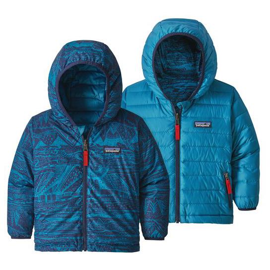 c6e4148d Patagonia Baby Reversible Down Sweater Hoody - Dunjakke Børn ...