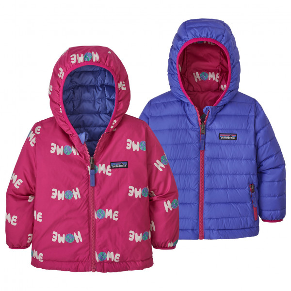 Baby Reversible Down Sweater Hoody - Down jacket