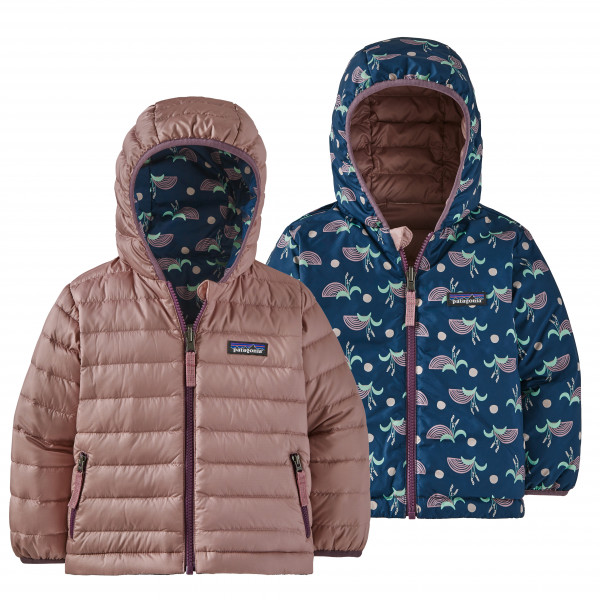 Patagonia - Baby Reversible Down Sweater Hoody - Down jacket