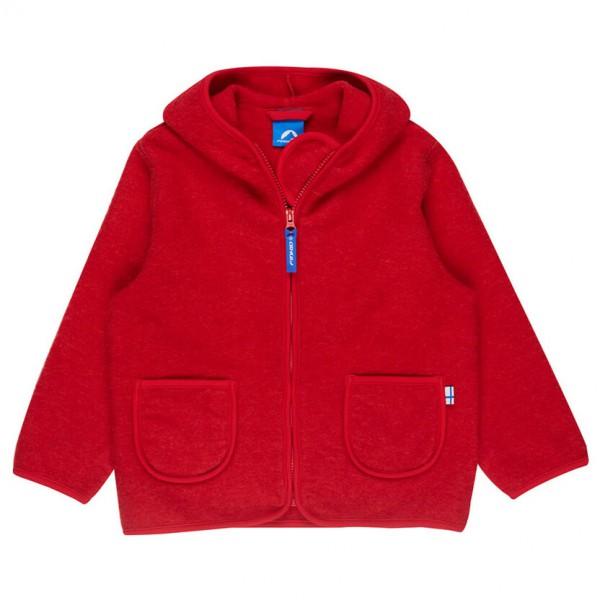 Finkid - Kid's Tonttu Wool Pixie Hood - Wollen jack