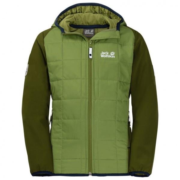Jack Wolfskin - Boy's Grassland Hybrid Jacket - Syntetjacka