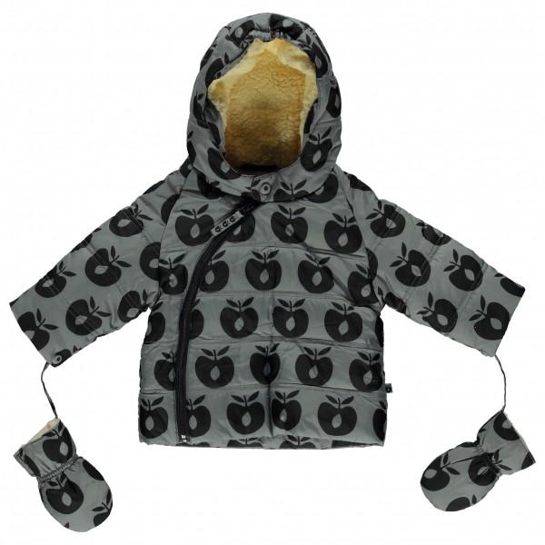 Smafolk - Baby Winter Jacket with Apples - Talvitakki