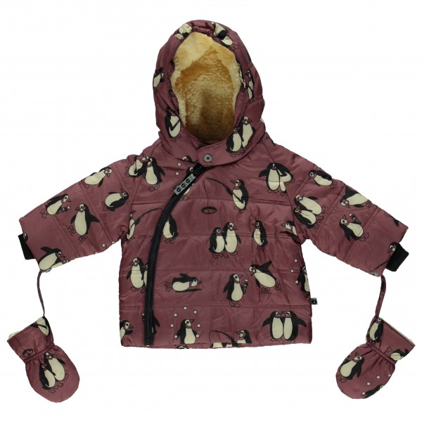 Smafolk - Baby Winter Jacket with Penguins - Winterjack
