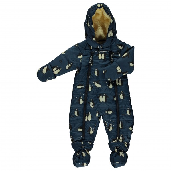 Smafolk - Baby Wintersuit with Penguins - Haalarit