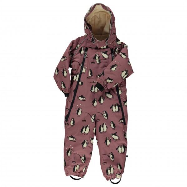 Smafolk - Kid's Wintersuit 2 Zippers Penguins - Haalarit