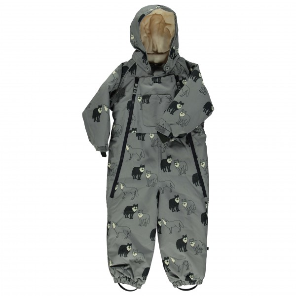 Smafolk - Kid's Wintersuit 2 Zippers Wolves - Overall