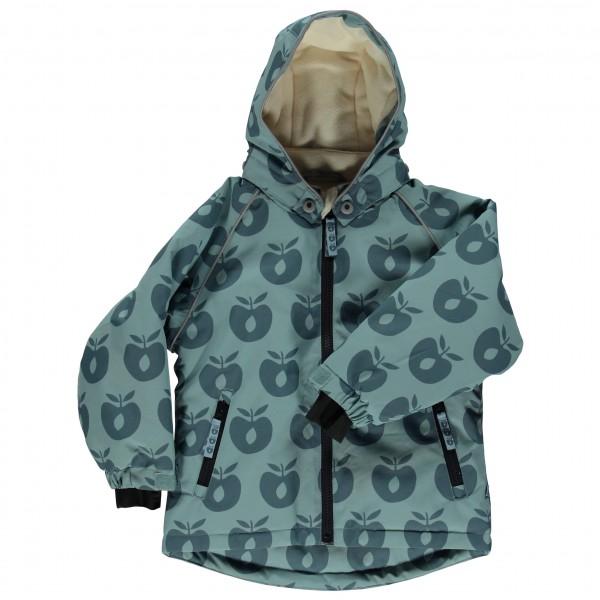 Smafolk - Boy's Winter Jacket with Apples - Vinterjakke