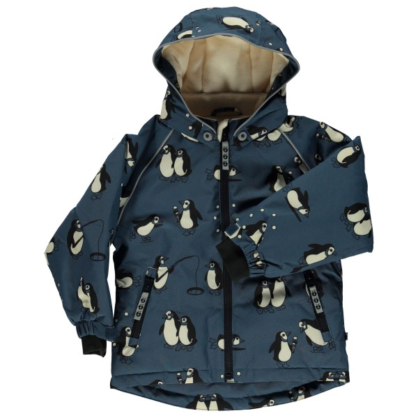 Smafolk - Boy's Winter Jacket with Penguins - Winterjack