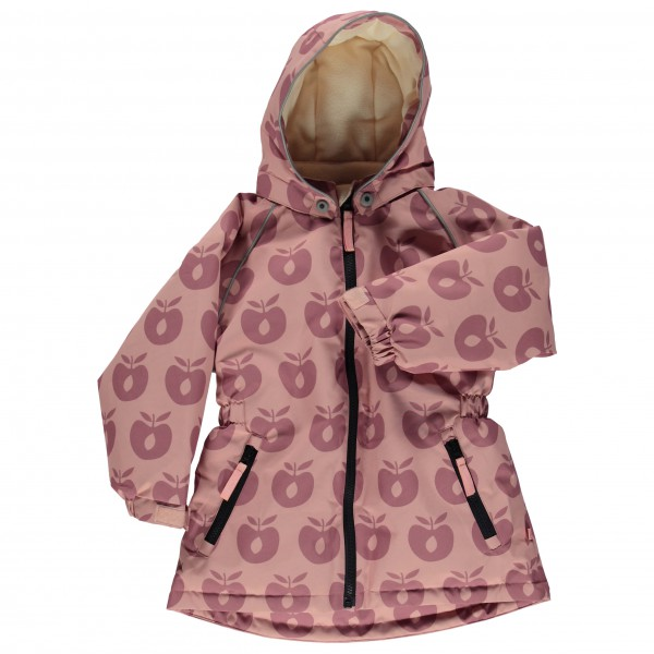 Smafolk - Girl's Winter Jacket with Apples - Jas