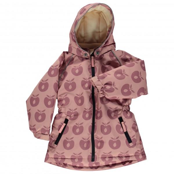 Smafolk - Girl's Winter Jacket with Apples - Mantel
