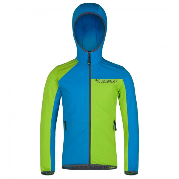 Montura - Skyfall Light Hoody Maglia Kid - Softshelljacka