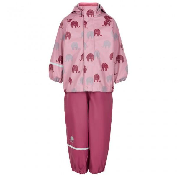 CeLaVi - Kid's Rainwear Set PU With All Over Print - Regnjakke