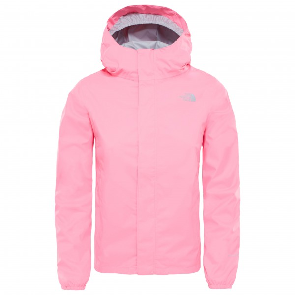 The North Face - Girl's Resolve Reflective - Regnjakke
