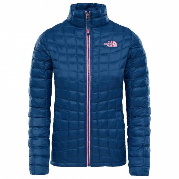 The North Face - Girl's Thermoball Fullzip Jacket - Syntetjacka