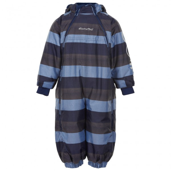 Minymo - Kid's Snowsuit with 2 Zippers - Kedeldragt