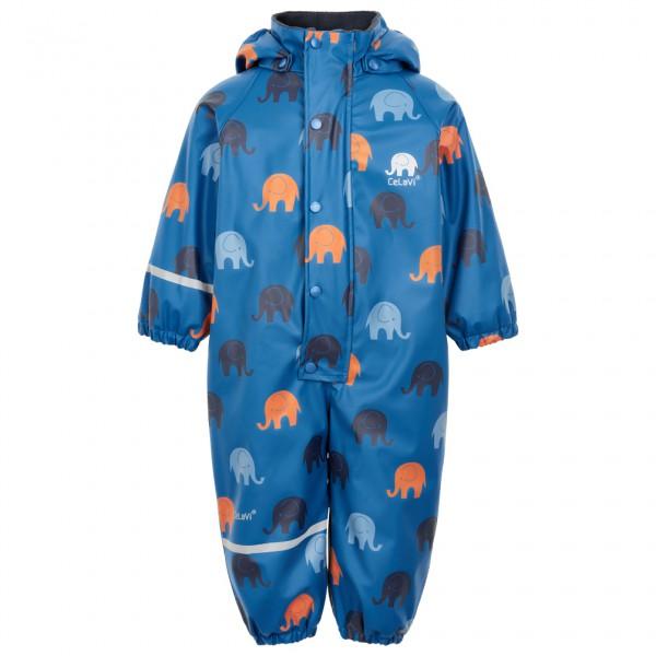 CeLaVi - Kid's Rainwear Suit All Over Print - Haalarit