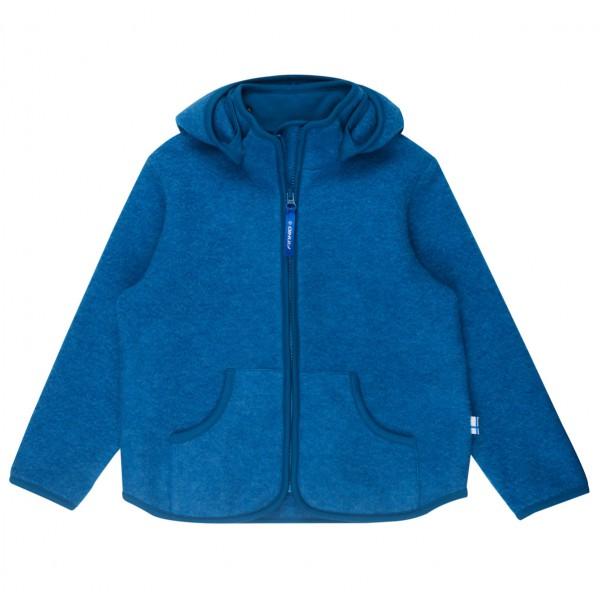 Finkid - Kid's Tonttu Sport Wool  Hood - Wool jacket