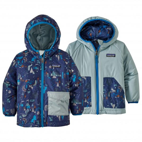 Patagonia - Kid's Reversible Puff-Ball Jacket - Syntetisk jakke
