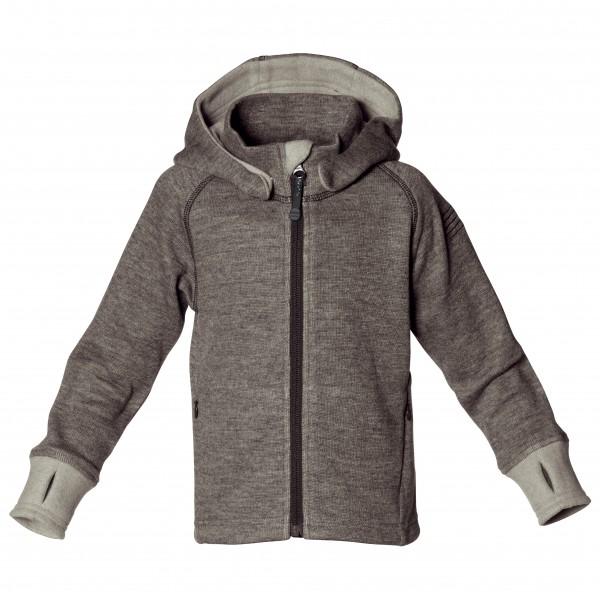 Isbjörn - Wooly Kids Hoodie - Wool jacket