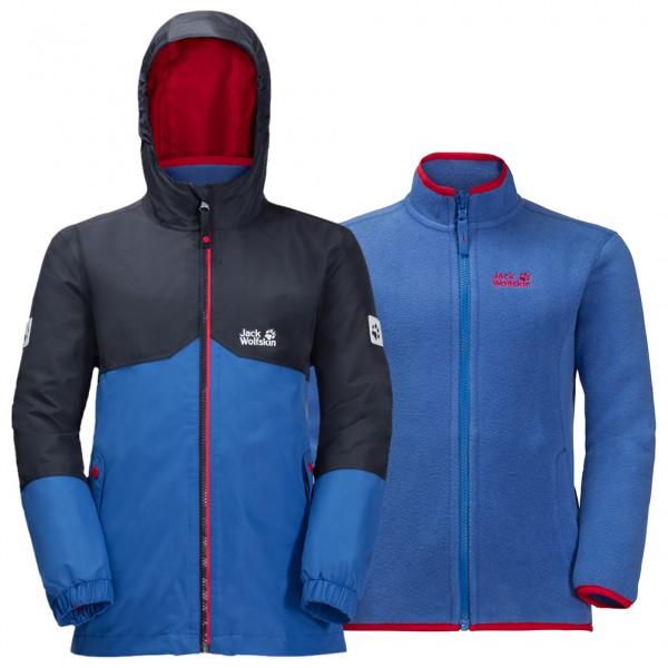 Jacket Jungen Wolfskin Iceland 3in1 Jack Doppeljacke eHIYW29DbE