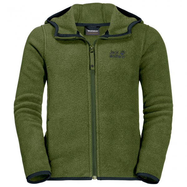 Jack Wolfskin - Kid's Baksmalla Hooded Jacket - Fleecejacke