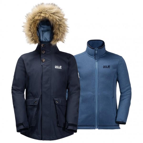 Jack Wolfskin - Girl's Elk Island 3in1 Parka - 3-in-1 jacket