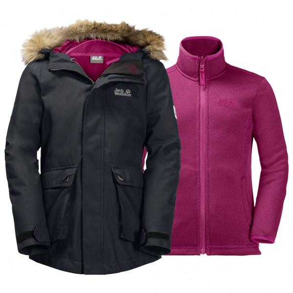 Jack Wolfskin - Girl's Elk Island 3in1 Parka - 2-in-1 jacket