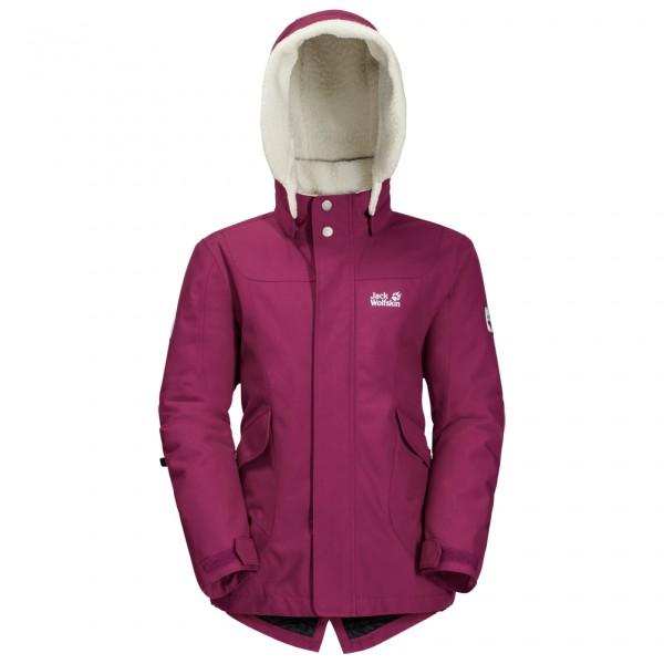 Jack Wolfskin - Girl's Great Bear Jacket - Vinterjakke