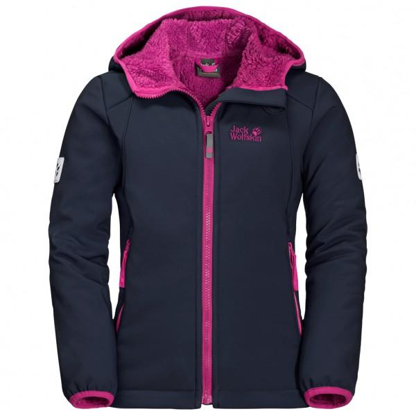 Jack Wolfskin - Girl's Kissekatt Jacket - Softshell jacket