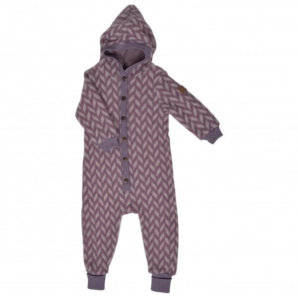 Mikk-Line - Kid's Wool Jacquard Suit w/Hood - Overall