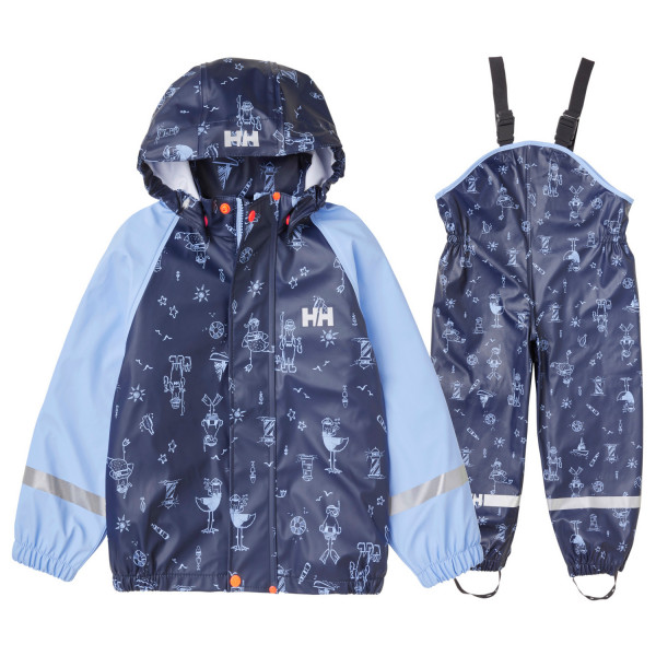 Helly Hansen - Kid's Bergen All-Over Print PU Rainset - Overall