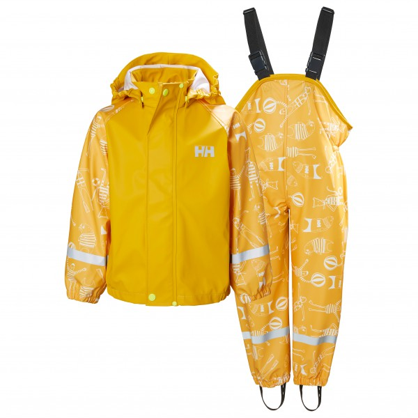 Helly Hansen - Kid's Bergen All-Over Print PU Rainset - Overall