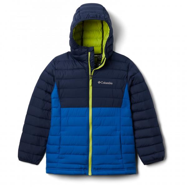 Columbia - Boys Powder Lite Hooded Jacket - Syntetjacka