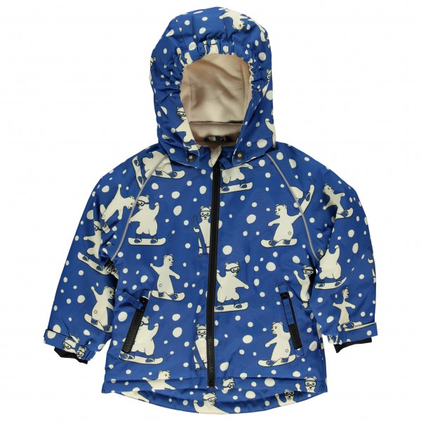 Smafolk - Kid's Winter Jacket for Boy with Polar Bear - Vinterjakke
