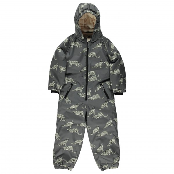 Smafolk - Kid's Winter Suit One Zipper with Leopard - Overall