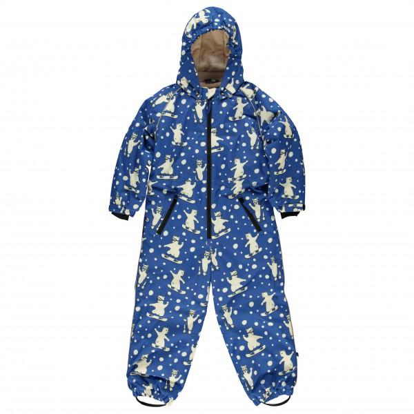 Smafolk - Kid's Winter Suit One Zipper with Polar Bear - Mono
