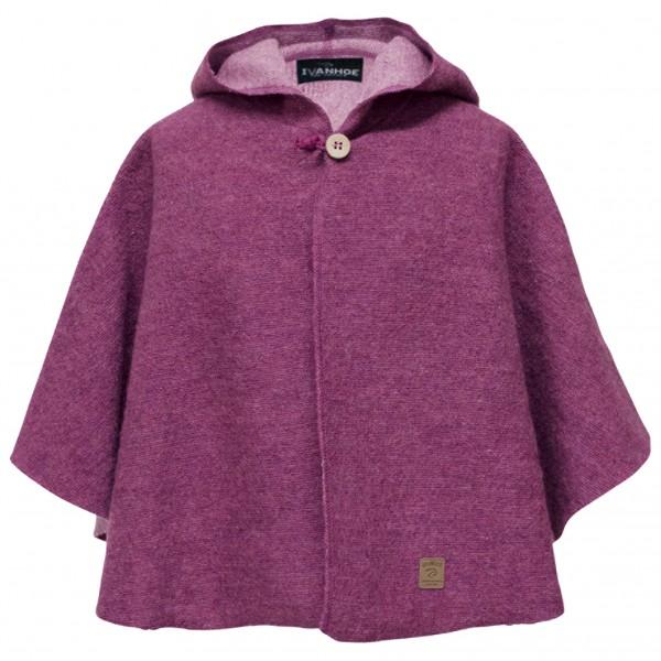 Ivanhoe of Sweden - Kid's Trolle Poncho - Wool jacket