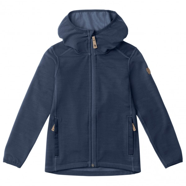 Fjällräven - Kid's Keb Fleece Hoodie - Wool jacket