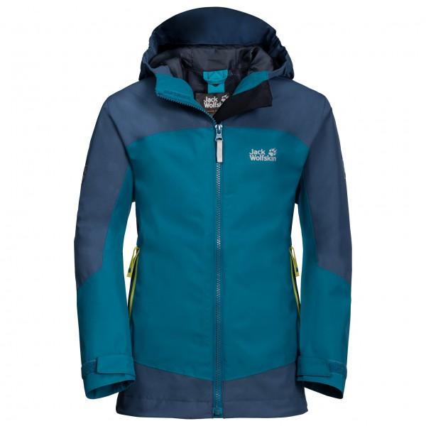 Jack Wolfskin - Kid's Akka Jacket Boys - Waterproof jacket