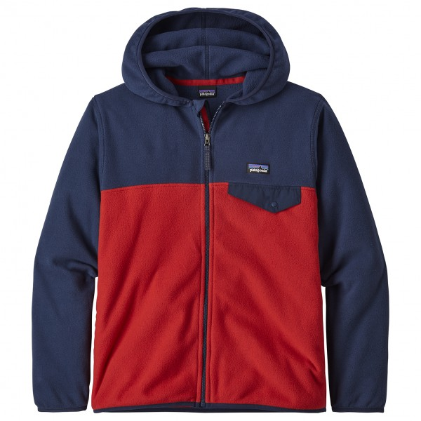 Patagonia - Boys Micro D Snap-T Jacket - Fleece jacket